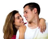 Teen couple — Stock Photo