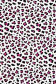 Pink & grey leopard background — Stock Photo