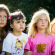 Stock Photo: Four little girls