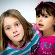 Two little girls — Stock Photo #36027465