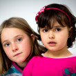 Stock Photo: Two little girls