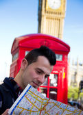 Tourist in London — Stock Photo