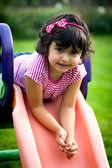 маленькая девочка портрет — Стоковое фото