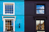 Portobello road houses — Stock Photo
