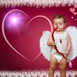 Stock Photo: Baby cupid