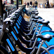 Bicycles in London — Stock Photo