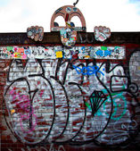 Urban graffiti — Stock Photo