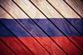 木製の旗 — ストック写真