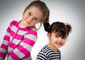 二人の少女 — ストック写真