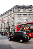 Oxford Circus view — Stockfoto