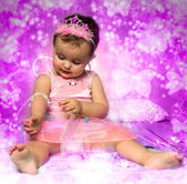 Dítě víla — Stock fotografie