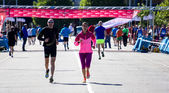 Marathon in Gijon — Stock Photo