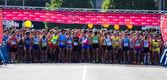 Maraton v gijonu — Stock fotografie