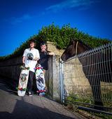 Skateboarder — ストック写真