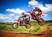 Motocross Championship — Foto Stock