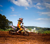 Motocross Championship — Stock Photo