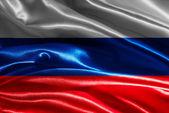 Flag of Russia — Stok fotoğraf