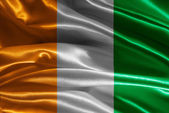 Flag of Ivory Coast — Stock Photo
