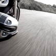 Motorcycle rider view — Stock Photo #49541301