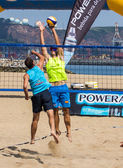 Beach volleyball tournament — Stockfoto
