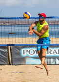 Beach volleyball tournament — Stock Photo