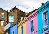 Portobello road houses — Stock fotografie