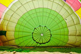 Inside Colorful Hot Air Balloons — Stock Photo