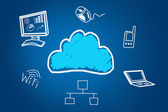 Cloud technology — Stock Photo