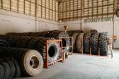 Mining tire — Stock Photo
