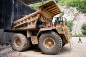 Dump trucks — Stock Photo