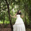 Wedding dress — Stock Photo