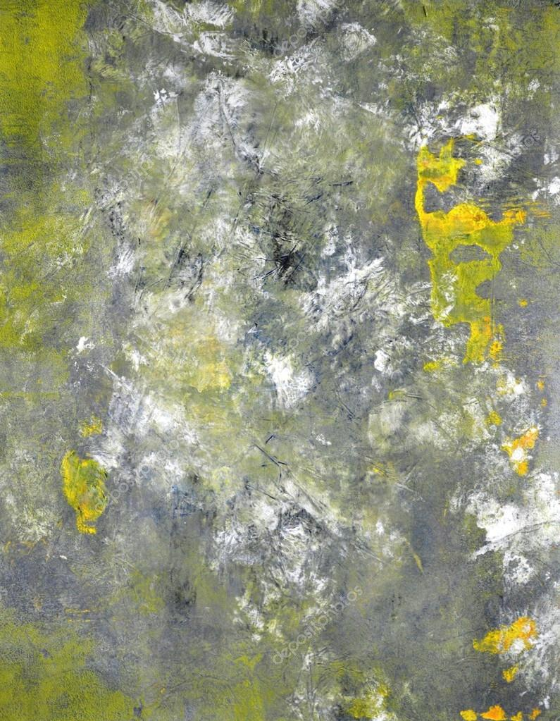 Abstract Yellow Paintings Abstract Art Painting