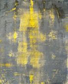 Grau und gelb, abstrakte kunst, malerei — Stockfoto