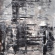 Grey and Beige Abstract Art Painting — Stockfoto #21193027
