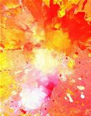 Pink and Orange Abstract Art Painting — Stock Photo