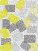 Grey and Yellow Abstract Art Design — Stock Photo