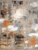 Marrón y gris pintura de arte abstracto — Foto de Stock