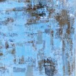 Blue and Brown Abstract Art Painting — Stock Photo #40497191