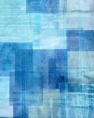 Blue and Brown Abstract Art Painting — Stock Photo