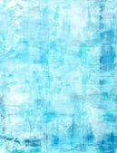 蓝色抽象艺术绘画 — 图库照片