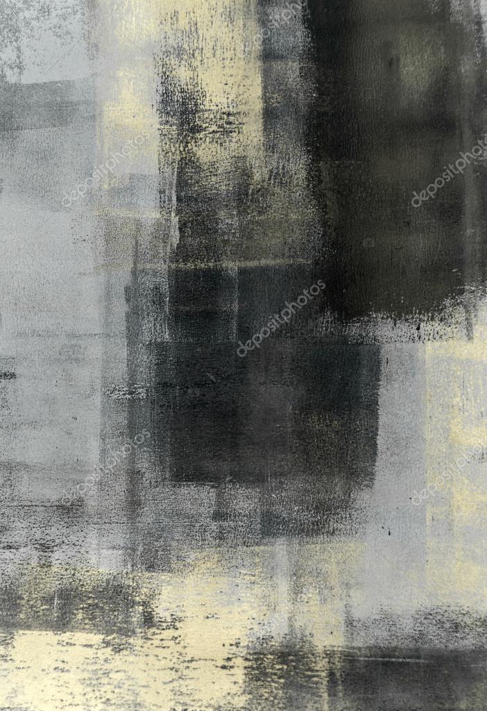 grau und beige abstrakte kunst malerei stockfoto 40496895. Black Bedroom Furniture Sets. Home Design Ideas