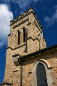 Anglican church steeple — Stock Photo