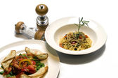 Japanese food set in Japan style — Stok fotoğraf