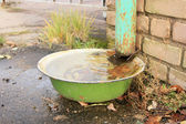 Funny bowl — Stock Photo