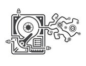Information leakage — Stock Vector