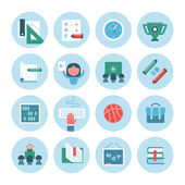 Collection of Education Icons — Stock Vector