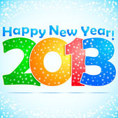 Happy New Year 2013 Background — Stockvektor