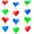 Vector de stock : Heart Icon.