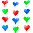 Heart Icon. — Vector de stock #16948957