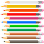 Color pensil — Stok Vektör